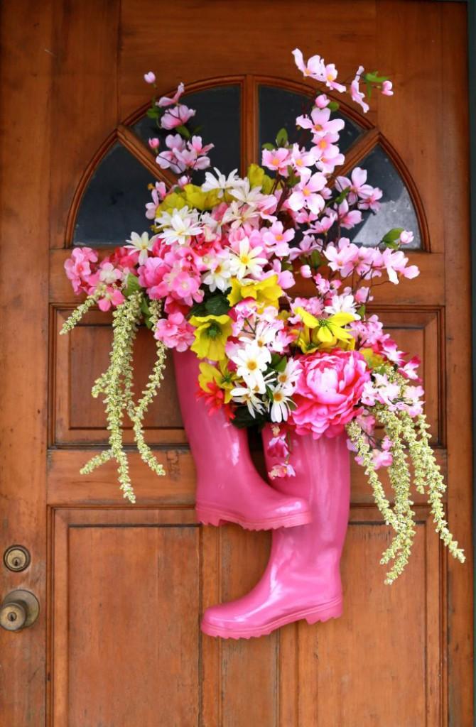 boot flowers E