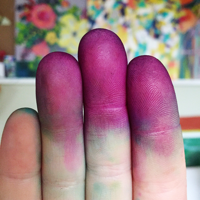 purple-fingers